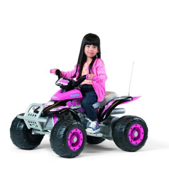 PEG PEREGO CORRAL T-REX PINK w kolorystyce dla dziewczynki