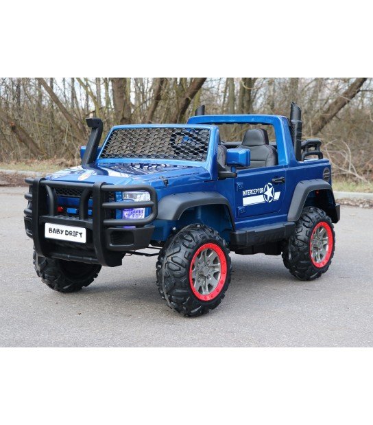 BABY DRIFT TERENOWY JEEP 4WD RED