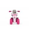 FLOWER PRINCESS motor trójkołowy dla dziewczynki