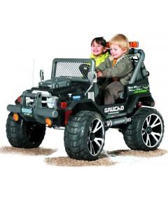 PEG PEREGO GAUCHO SUPERPOWER auto na akumulator 24V najlepiej wyposażony pojazd dziecięcy