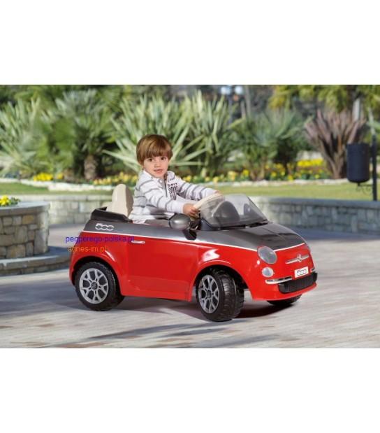 PEG PEREGO FIAT 500 red na licencji Fiata zupełnie jak prawdziwy